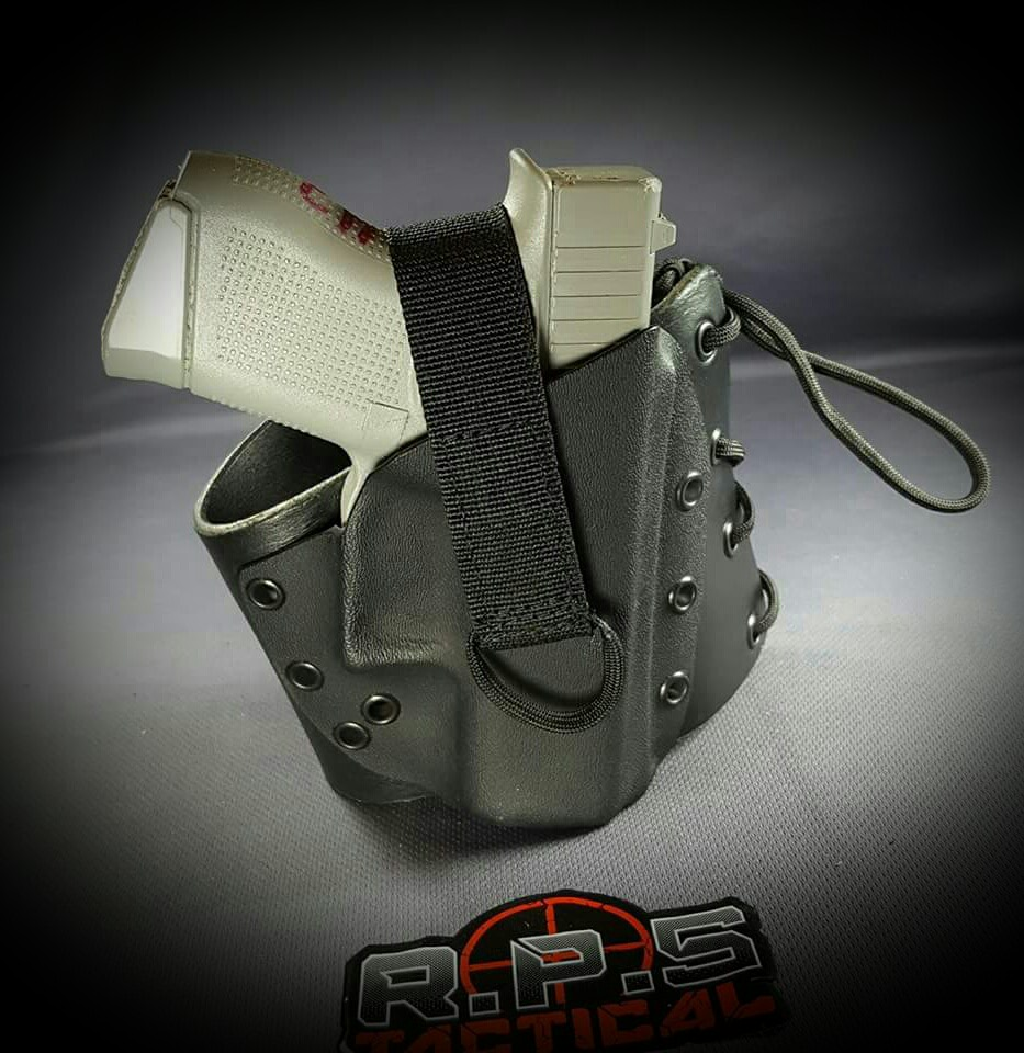 Boot Lace Holster