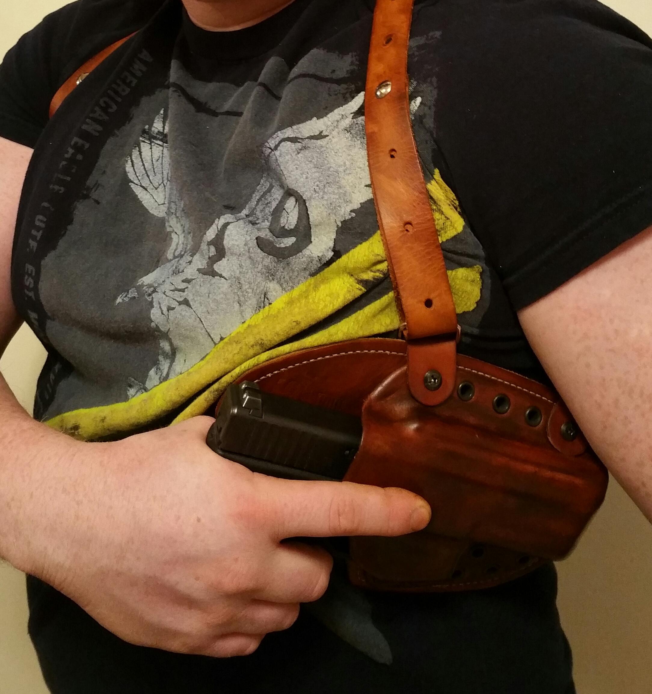 Shoulder Harness Mount For Adaptive Holster Rps